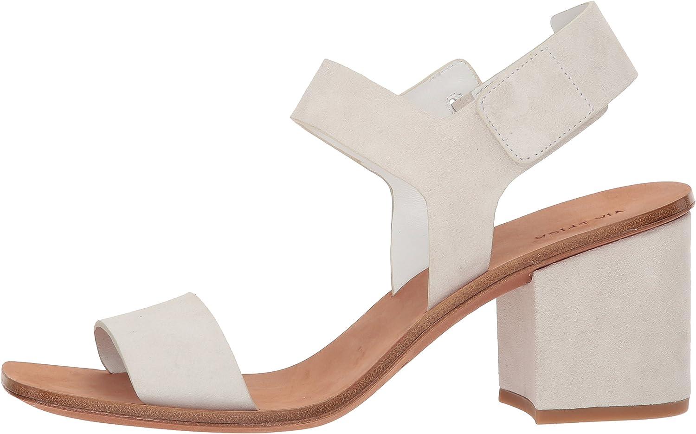 VIA SPIGA Womens Kamille Block Heel Sandal Heeled