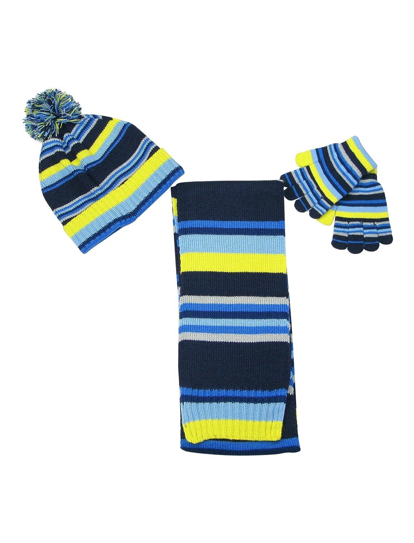 LOVARZI Ensemble bonnet Taille de 4 /à 8 ans et gants pour enfants /écharpe