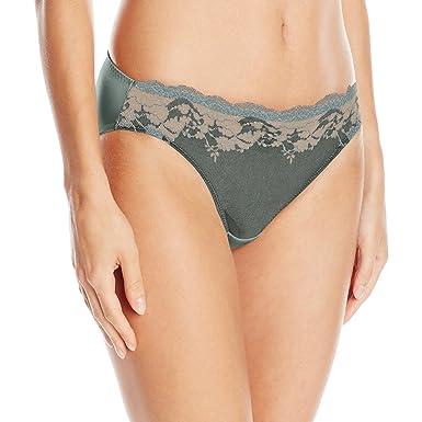 de35b81acff8 Wacoal Women's Lace Affair Bikini Panty at Amazon Women's Clothing store: