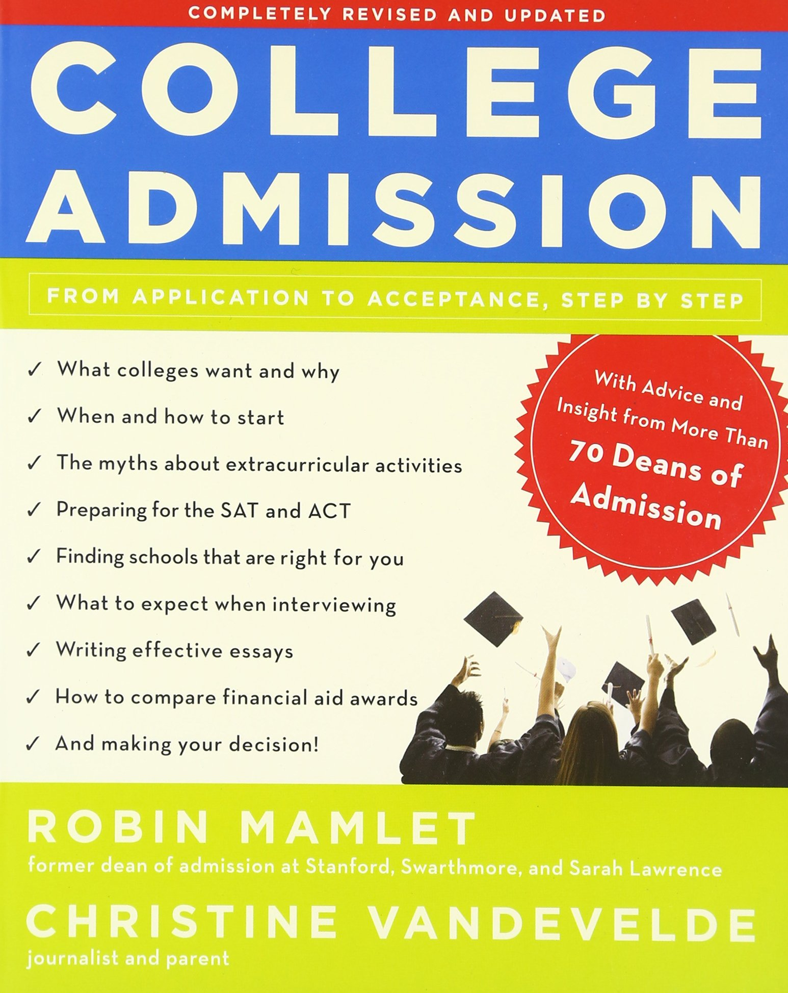College Admission Application Acceptance Step