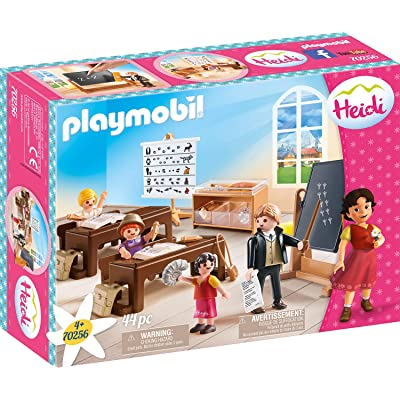 PLAYMOBIL 70256 Heidi School Lessons in Dorfli: Toys & Games