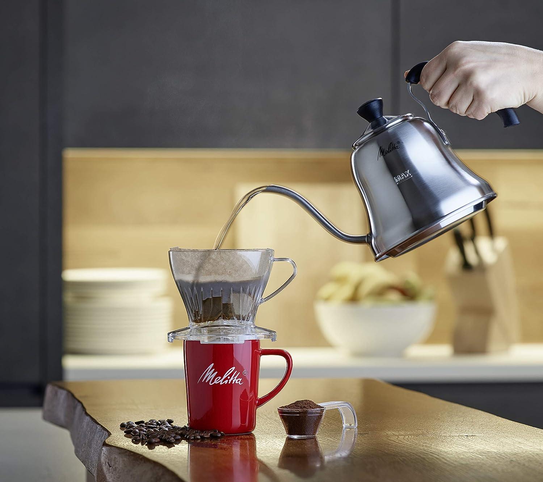 Melitta 6/trasl/úcido filtro de caf/é plana con caf/é cuchara