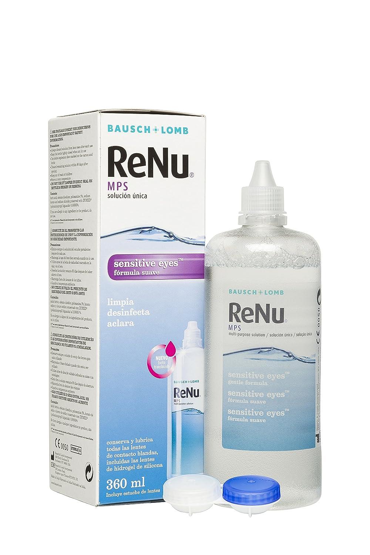 cf4e7f88e71ba Renu MPS - Solución Única Multiusos para Ojos Sensibles - 360 ml   Amazon.es  Salud y cuidado personal