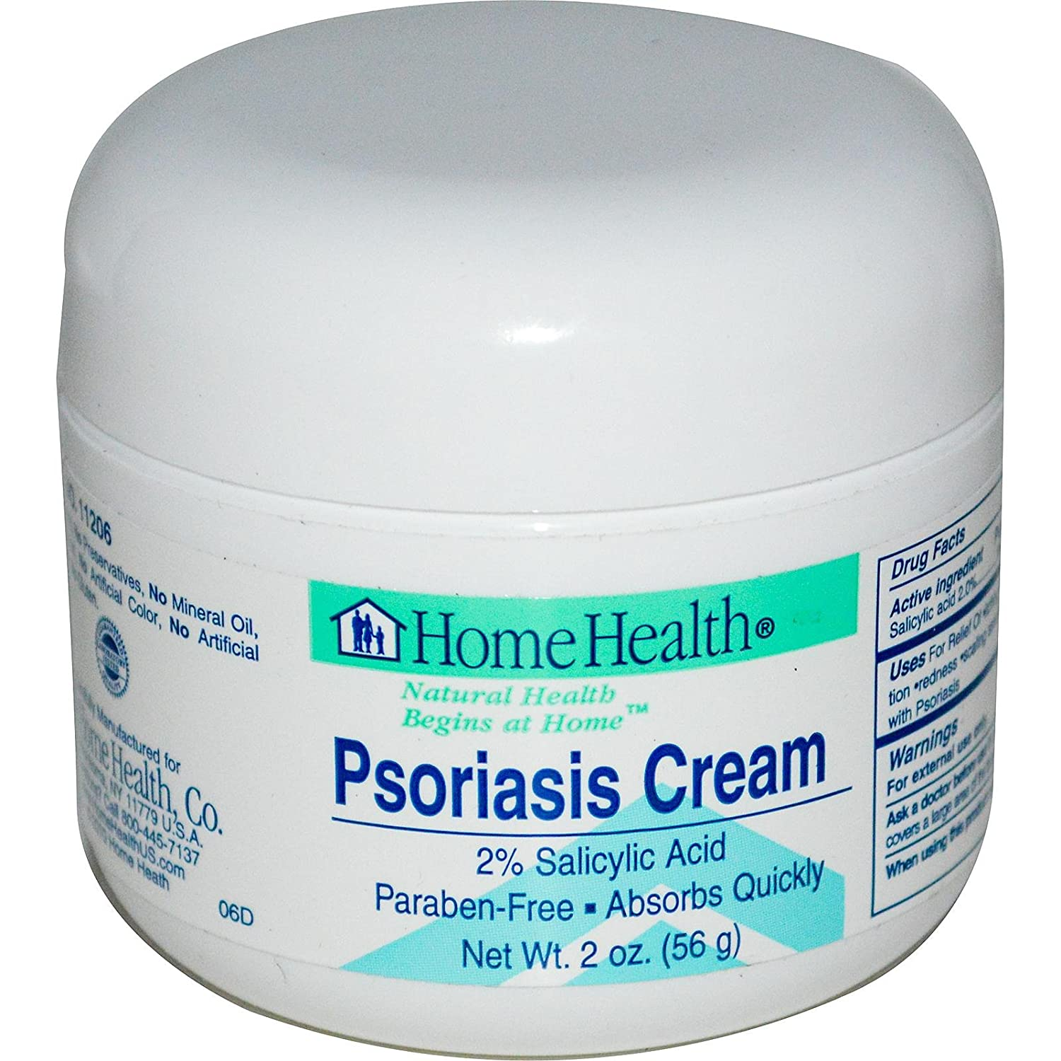 Home Health Products, Body Cream Psoriasis, 2 Ounce