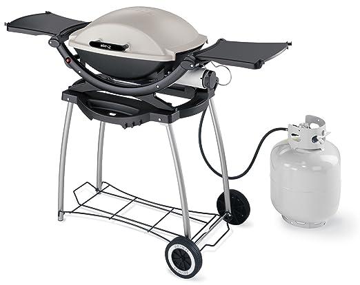 Weber Elektrogrill Zu Schwach : Weber 6507 rolling cart q100 q140 q 200 rollwagen: amazon.de: garten
