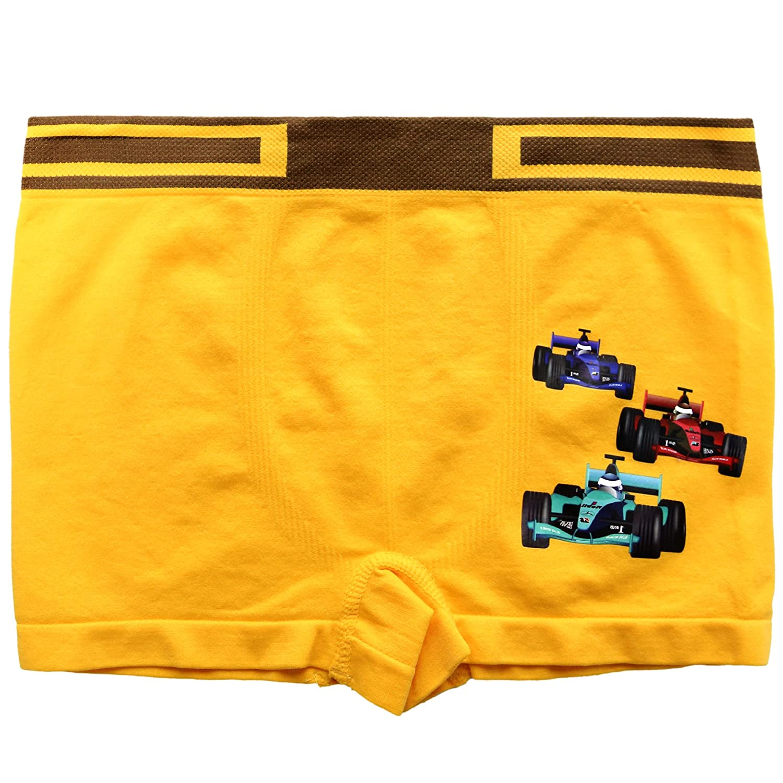 6color assort 6pcs BASICO BOY SEAMLESS BOXER SHORTS 1pack
