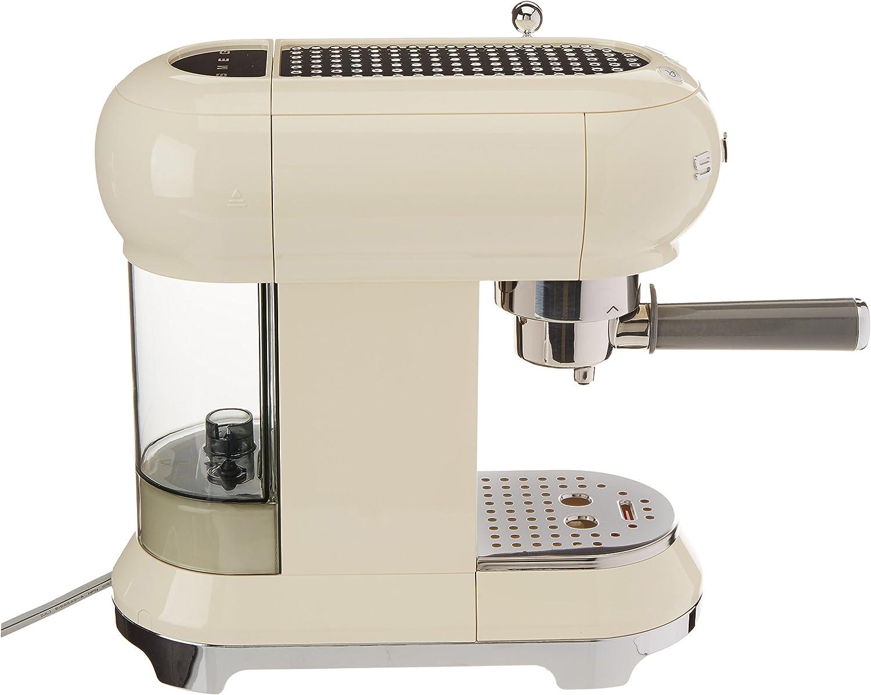 Smeg ECF01 RDEU/PBEU/CREU/Bleu Máquina de Café Expreso, 1350 W, 2 ...