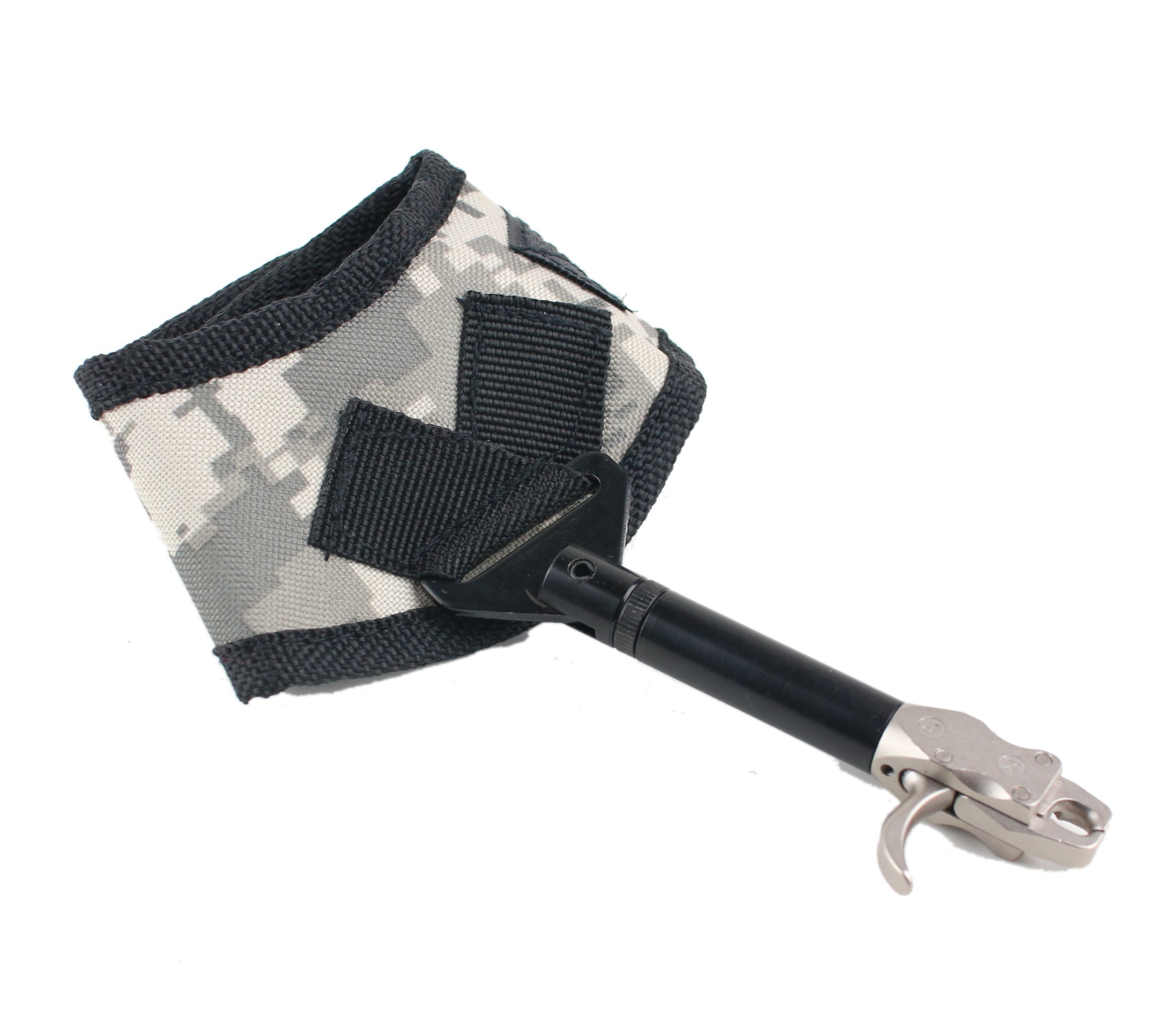 Sinoart Adjustable Compound Bow Release Aid Trigger for Hunting with Buckle Wrist Strap Archery Caplier Shooting Trigger Accessories