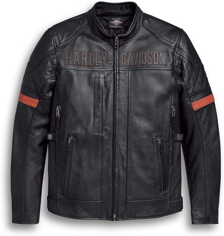HARLEY-DAVIDSON Vanocker Leather Jacket