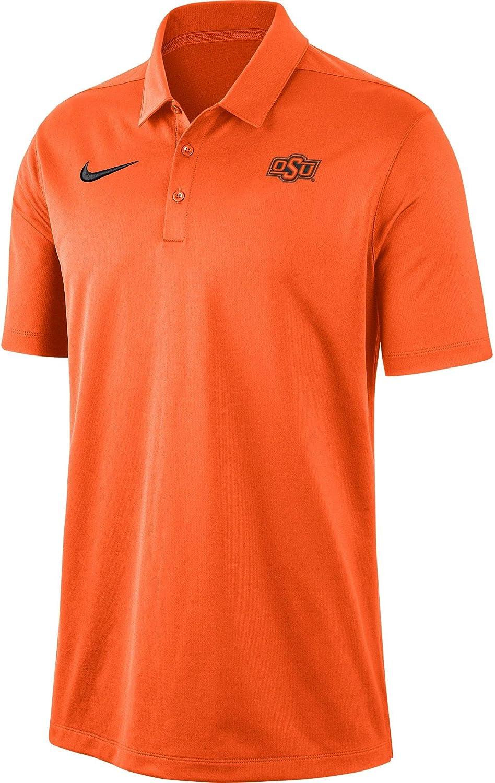 Nike Men's Oklahoma State Cowboys Orange Dri-FIT Franchise Polo: Clothing