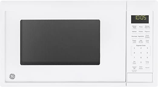Amazon Com Ge Appliances Jes1095dmww Ge 0 9 Cu Ft Capacity Countertop Microwave Oven White Appliances