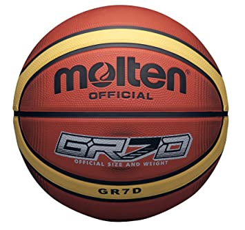 MOLTEN 33 Libertria Deep Channel-Balón de Baloncesto (6 cm), Color ...
