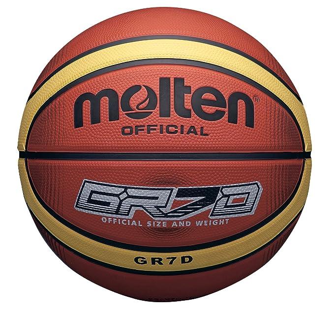 MOLTEN 33 Libertria Deep Channel-Balón de Baloncesto (6 cm), Color ...