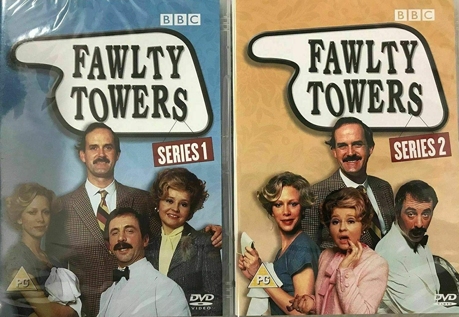Fawlty Towers Ser.1 & 2 [Reino Unido] [DVD]