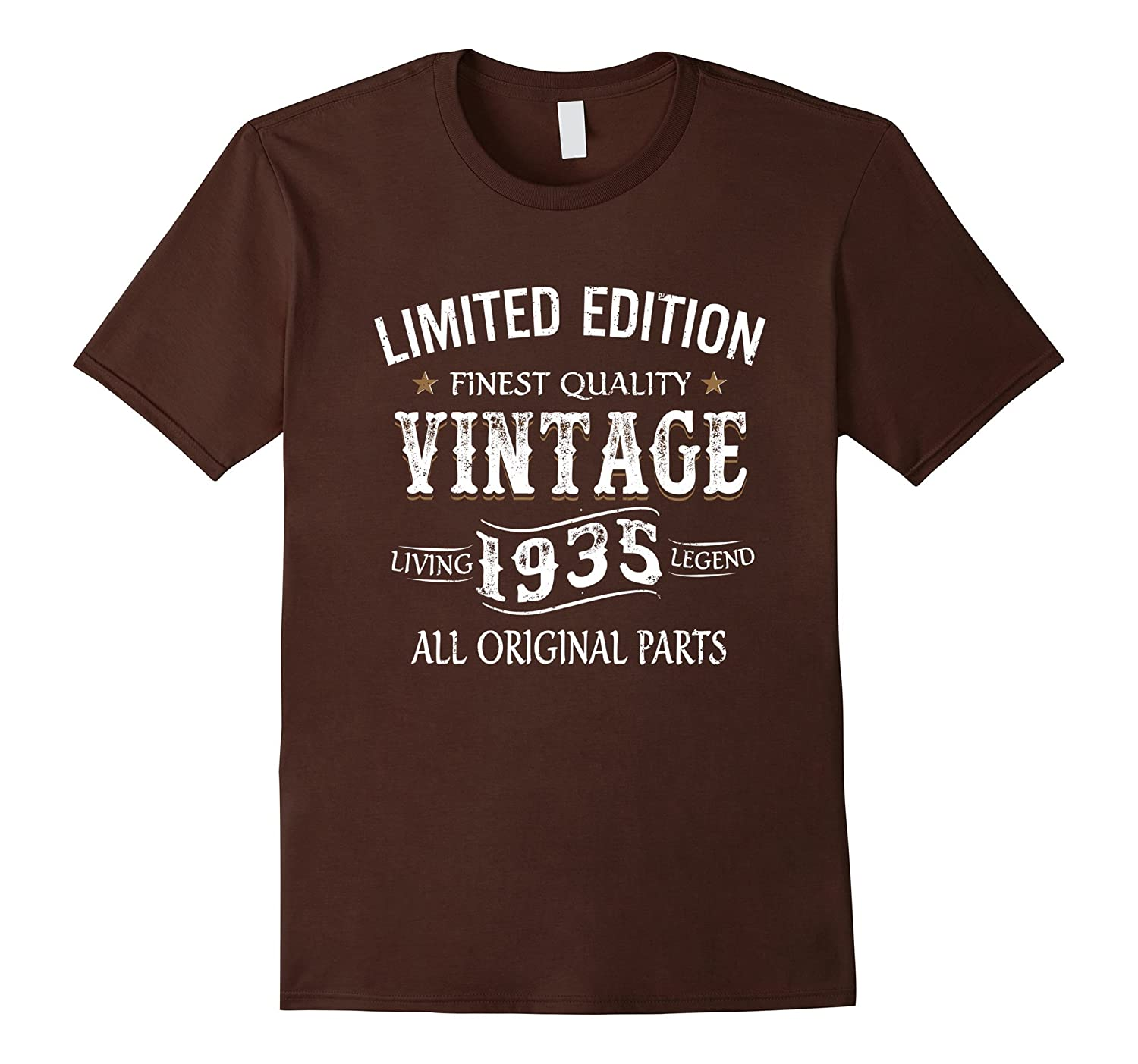 1935 T-Shirt 82nd Birthday Gifts 82 Year Old B-day Present-PL