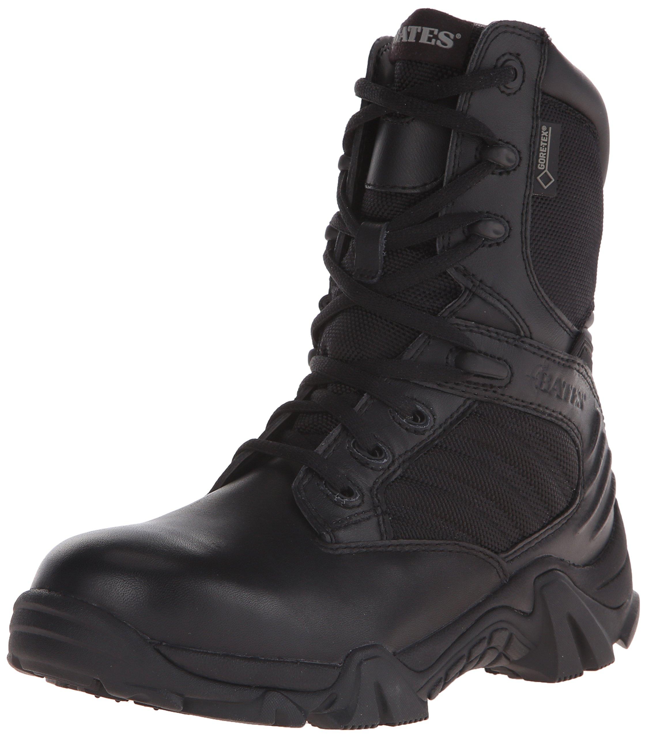 Bates Women's Gx-8 8 Inch Boot, Black, 8.5 M US by Bates