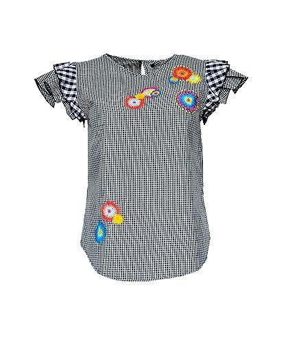 Desigual – Camisas – Cuello redondo – Manga corta – para mujer