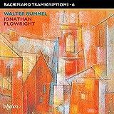 Bach: Piano Transcriptions, Vol. 6  (Walter Rummel)