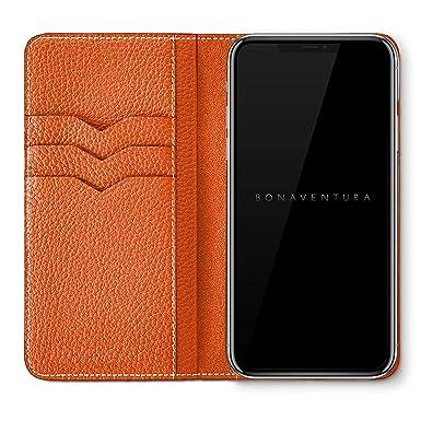 Amazon.com: BONAVENTURA - Funda tipo cartera de piel: Cell ...