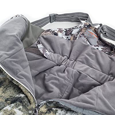 SITKA Gear Insulated WindStopper Fanatic Bib Optifade Elevated II XX Large
