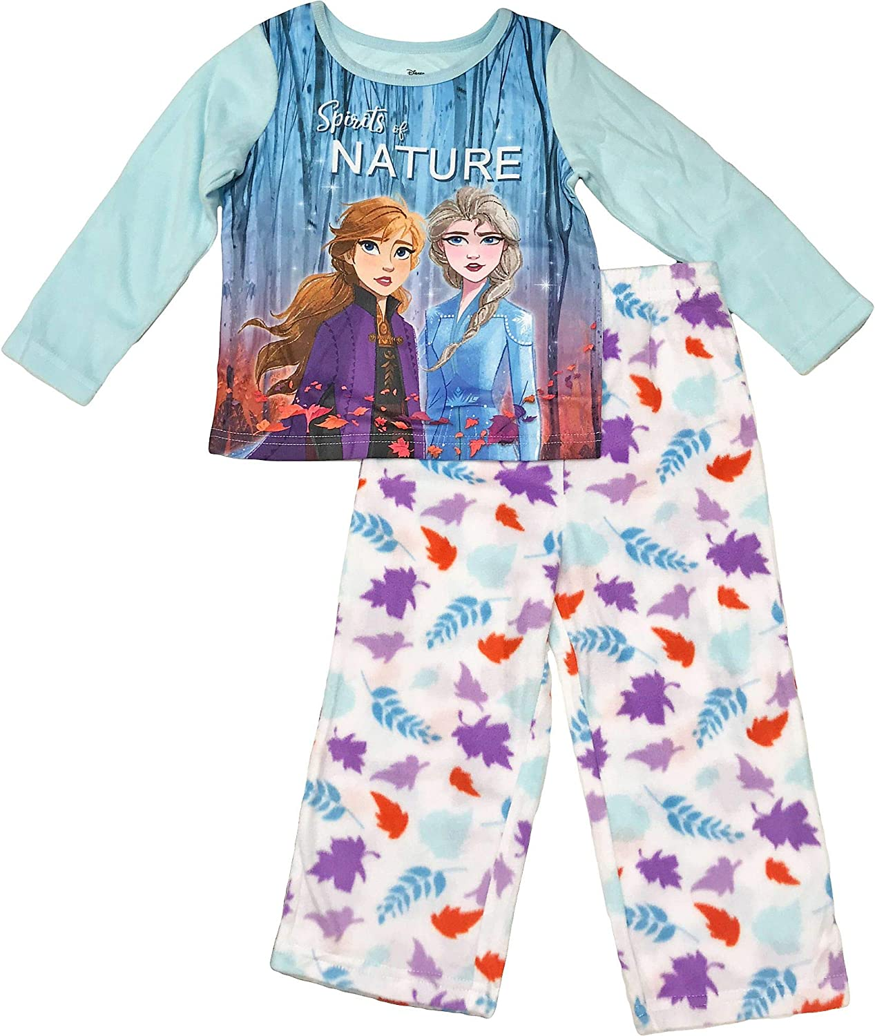 "Disney Frozen 2 /""Spirits of Nature/"" Girl/'s Pyjamas"