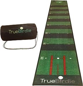 TrueBirdie Indoor Putting Green and Golf Mat with Travel Bag