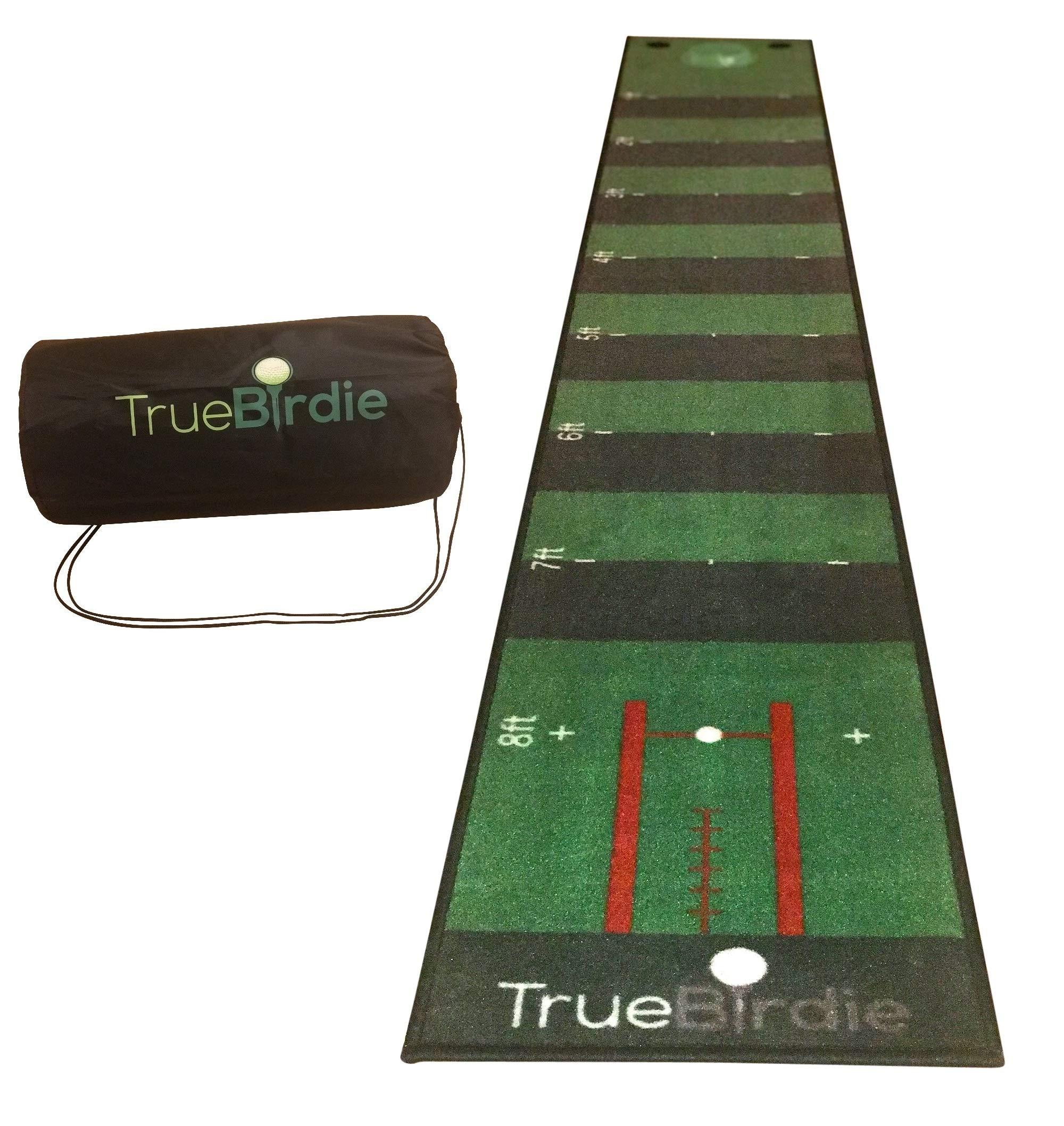 TrueBirdie Indoor Putting Green and Golf Mat with Travel Bag by TrueBirdie