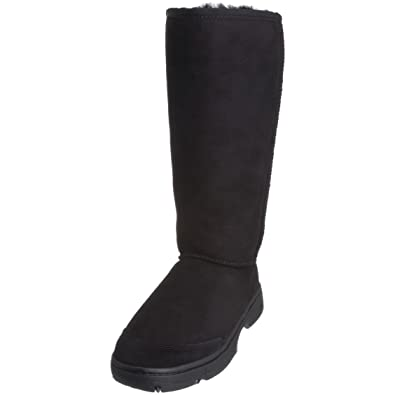 UGG WOOL Classic TALL Black Boots Size 10