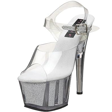 67af5dd39d6 Pleaser Women s Adore 708G Ankle-Strap Platform Sandal