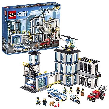 LEGO CITY 60141 Stazione di Polizia, per Bambini dai 6 Anni