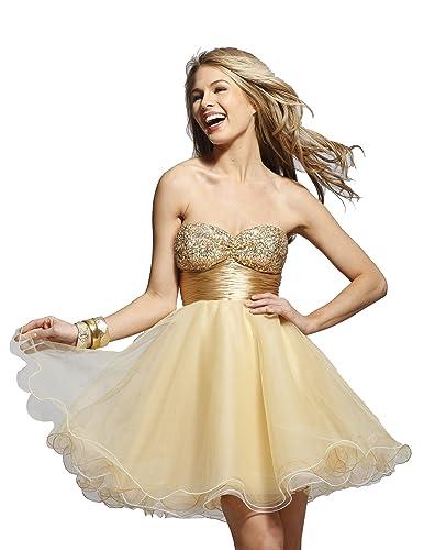 Clarisse Short Strapless Tulle Dress 9031