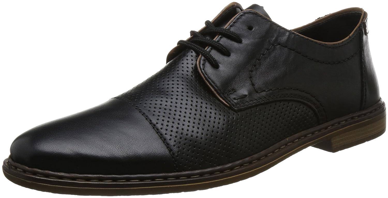   Rieker Men's 13428 00 Black Leather   Loafers