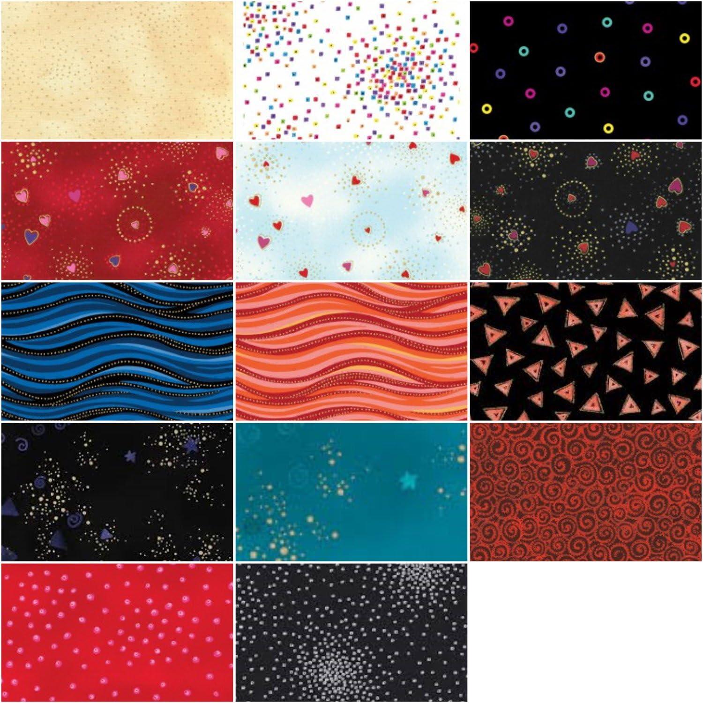 Nebula by Laurel Birch Strip Roll for Clothworks 40 2.5 Strips CLTST0310