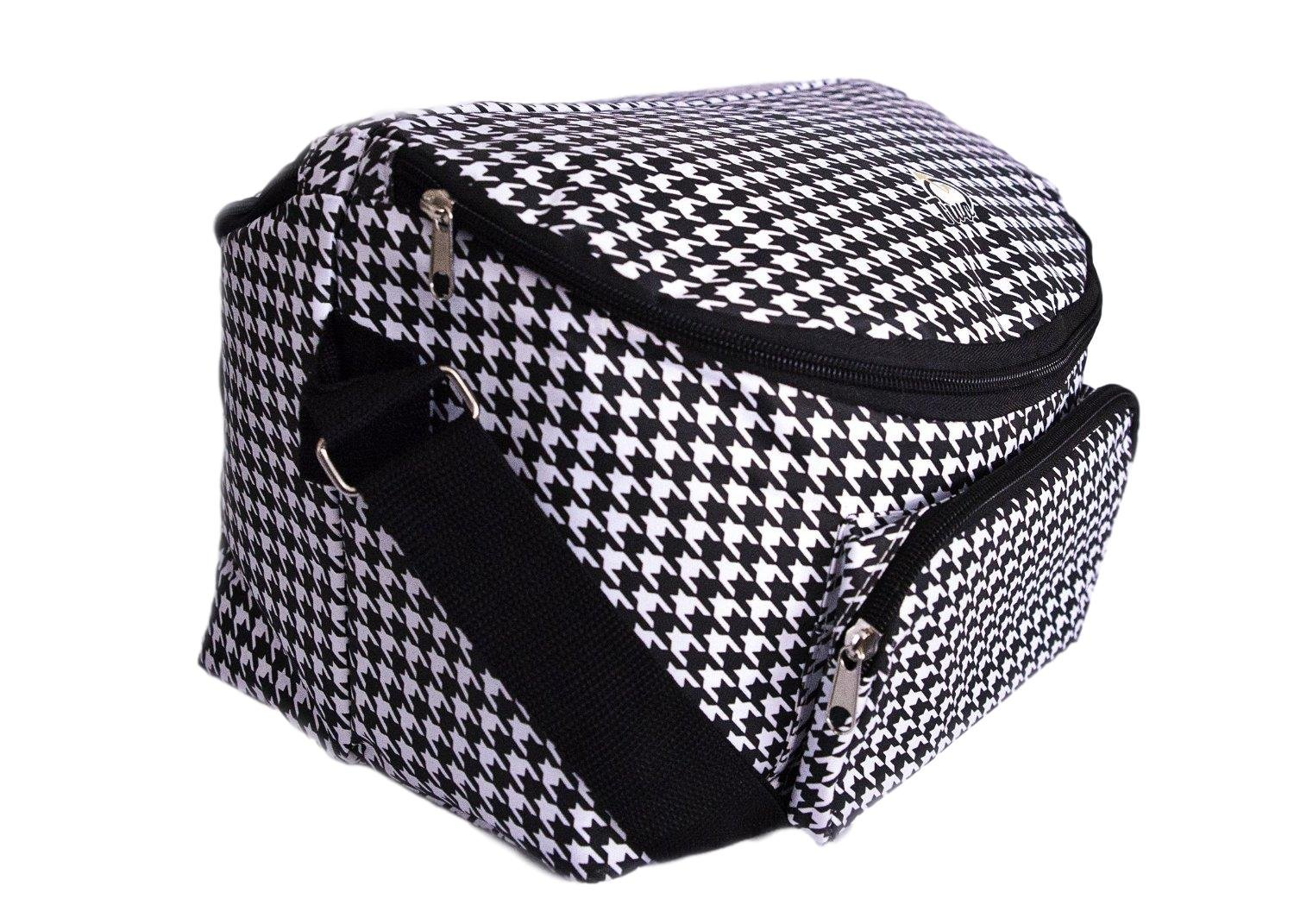 Amazon.com  Adult s 12-hour Shift 2-sided Lunch Bag (Houndstooth)  Kitchen    Dining df39d9647