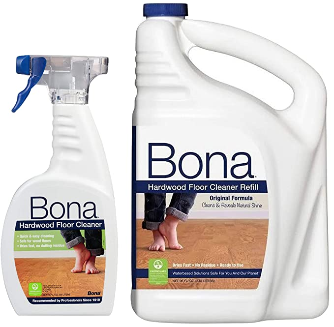 Amazon Bona Free Simple Hardwood Floor Cleaner 36oz Spray