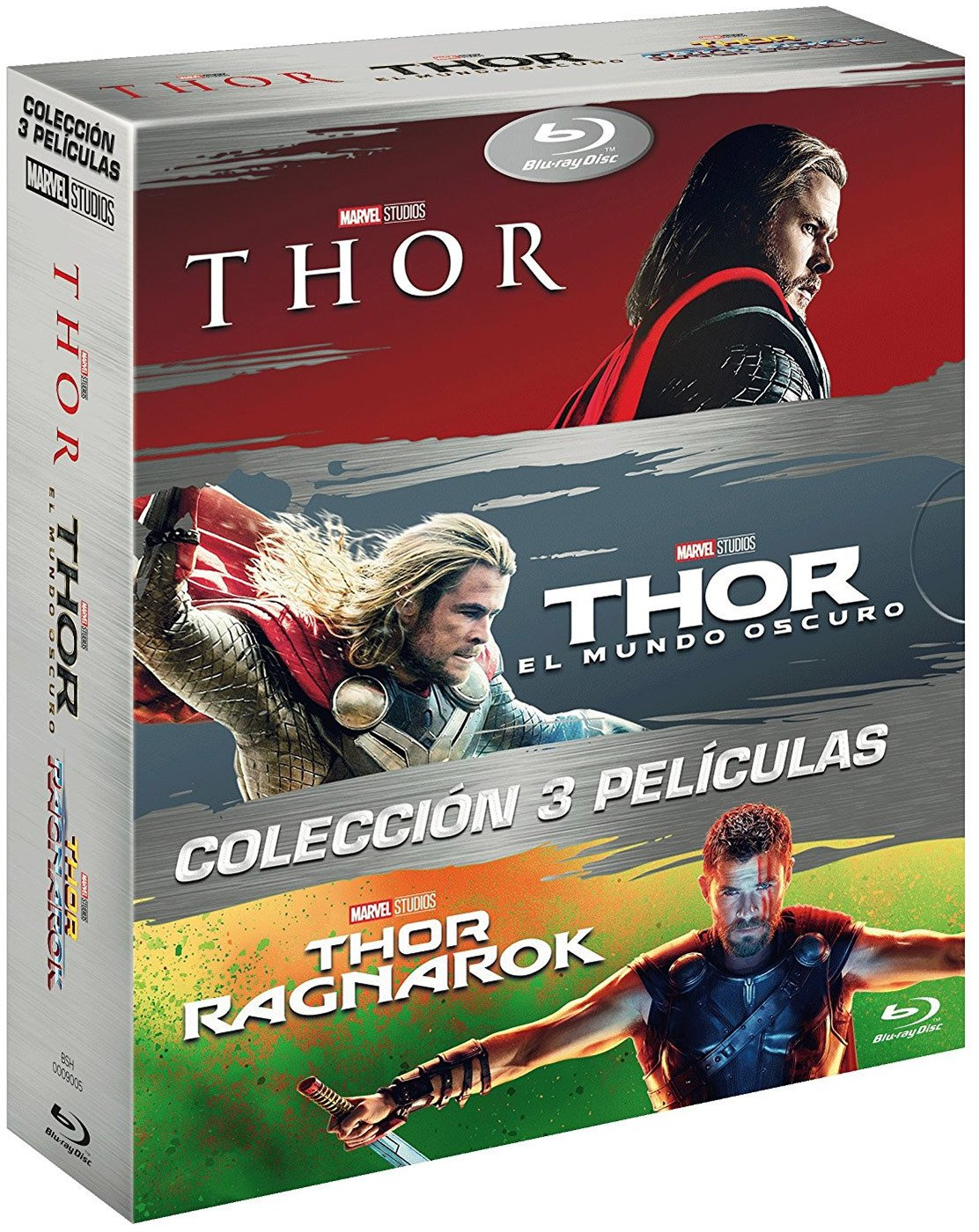 Pack Trilogía Thor Ragnarok [Blu-ray]: Amazon.es: Chris Hemsworth ...