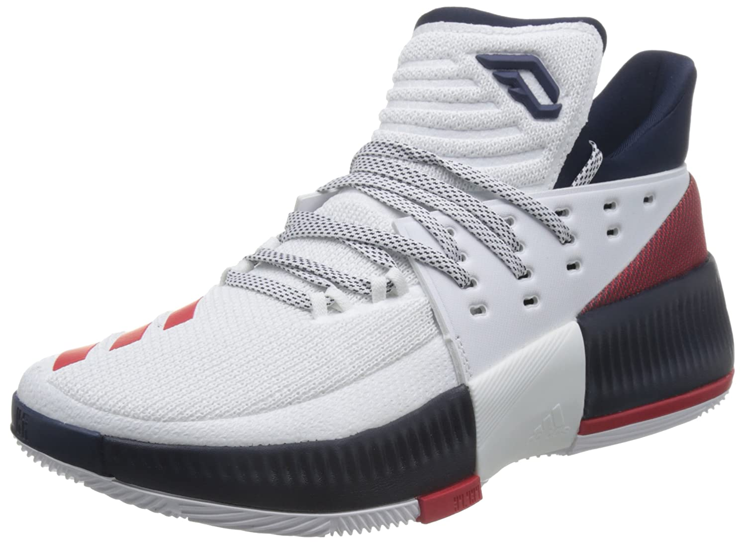 brand new ac662 9470a adidas Mens Dame 3 Fitness Shoes Amazon.co.uk Shoes  Bags