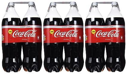 Coca-Cola - Light, Botella de Plástico 4 litros - Pack de 3 (Total 12000 ml): Amazon.es: Alimentación y bebidas