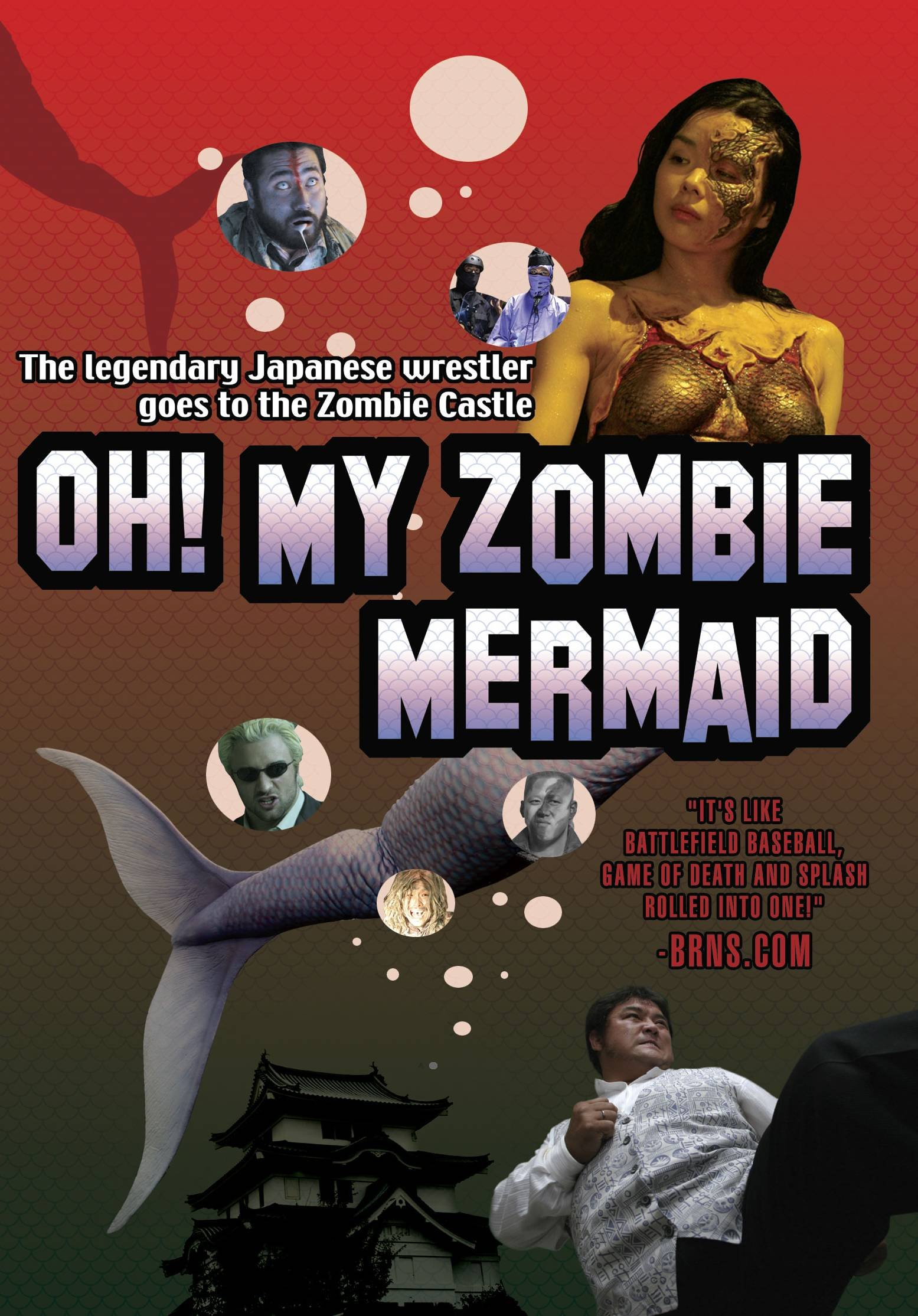 DVD : April Hunter - Oh! My Zombie Mermaid (Subtitled, Widescreen)