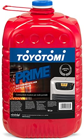 Toyotomi - Combustible universal Prime, 18 litros, rojo ...