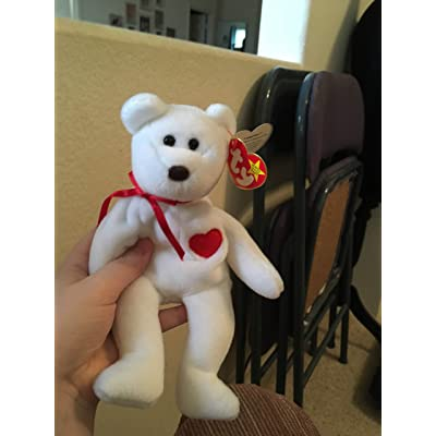 Ty Beanie Babies Valentino The Teddy Bear: Toys & Games