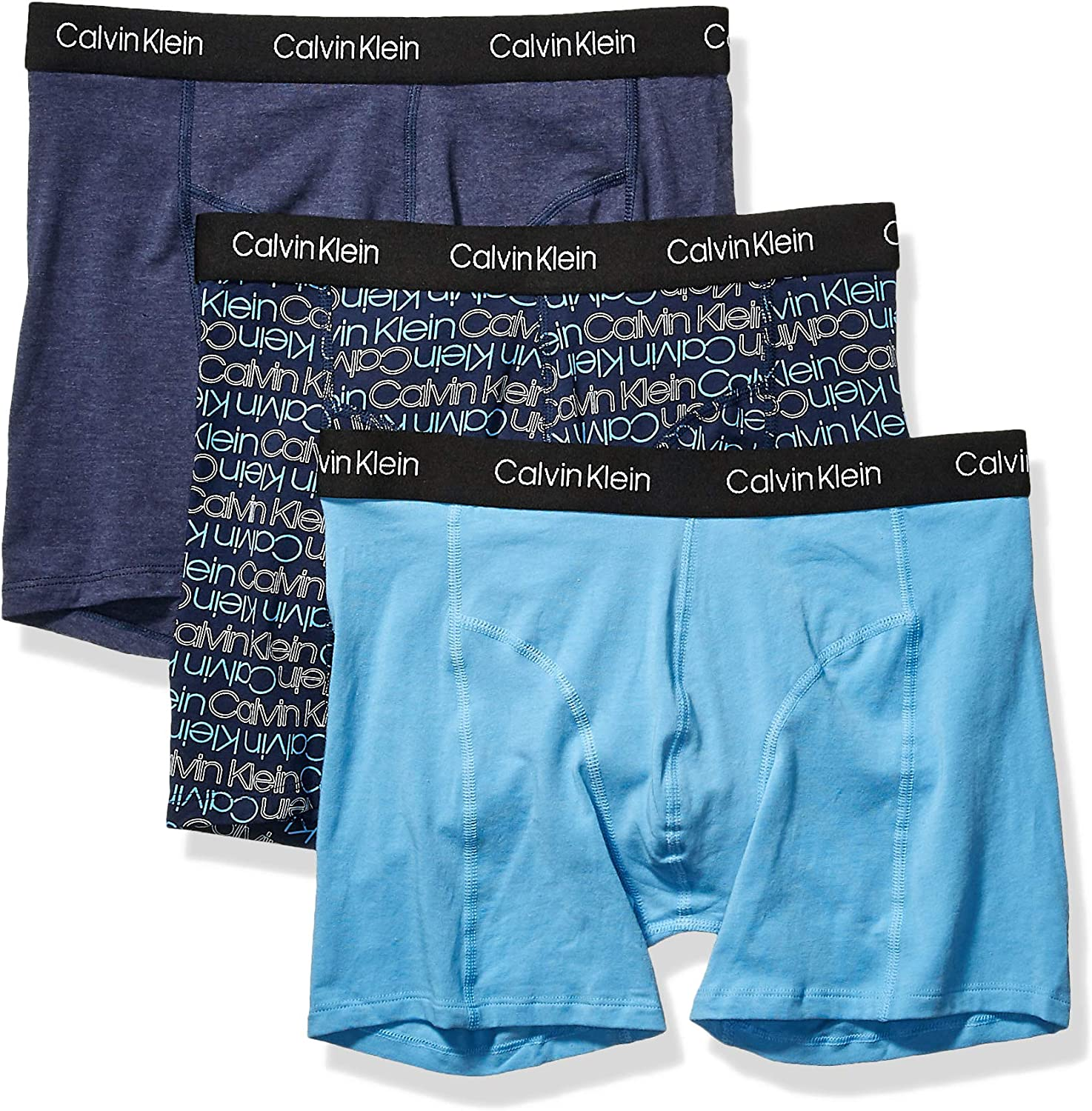 Calvin Klein Men's Underwear CK Axis 3 Pack Boxer Briefs