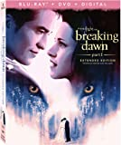 THE TWILIGHT SAGA: BREAKING DAWN PT1 3-Disc Combo Pack+Extended Edition [Blu-ray]