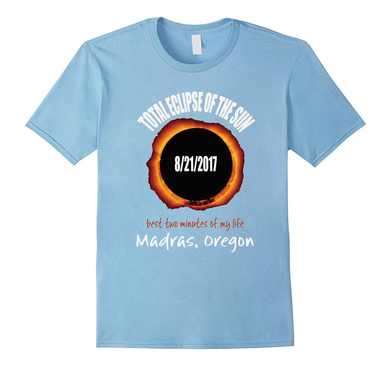 2017 Eclipse Souvenir Madras, Oregon OR T Shirt