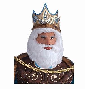 King Triton wig and beard set
