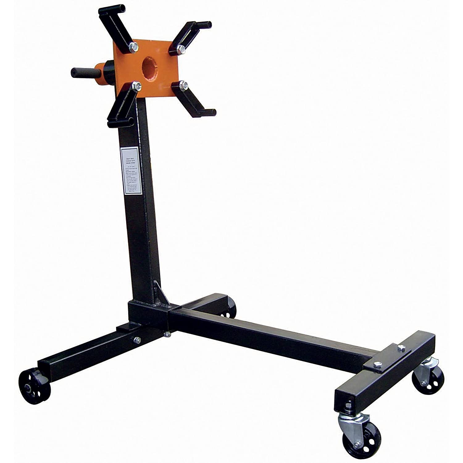 Black Bull ES4W 1000 Lb 4 Wheel Folding Engine Stand