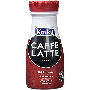 Kaiku Café UHT Espresso - Paquete de 6 x 200 gr - Total: 1200 gr