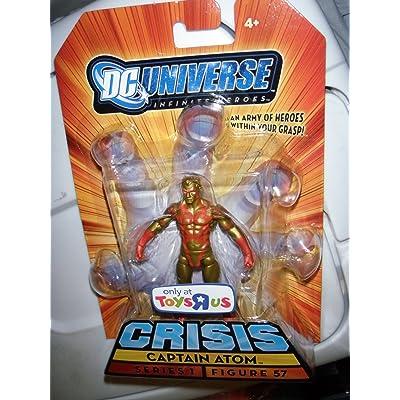 DC Universe Infinite Heroes Captain Atom TRU: Toys & Games