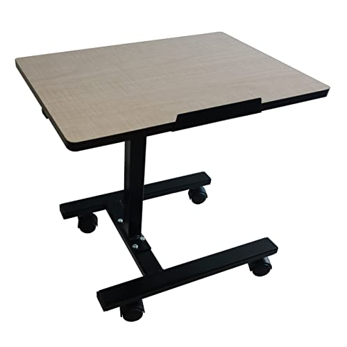 Smart Shelter Portable/Foldable Height Adjustable Laptop Table/Study Table  (Engineered Wood Top