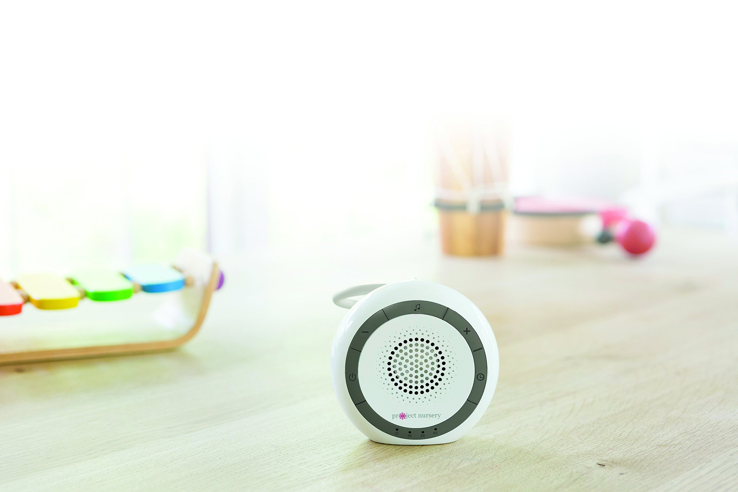 Portable Sound Machine, White Noise Machine and Sleep Soother with Nature Sounds, White Noise and Lullabies - Sound Soother & White Noise Machine for Baby by Project Nursery